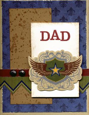 Dad card, cropcandy.com